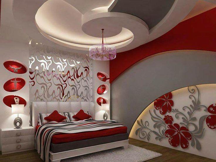 #yatakodası #kırmızı #dekorasyon