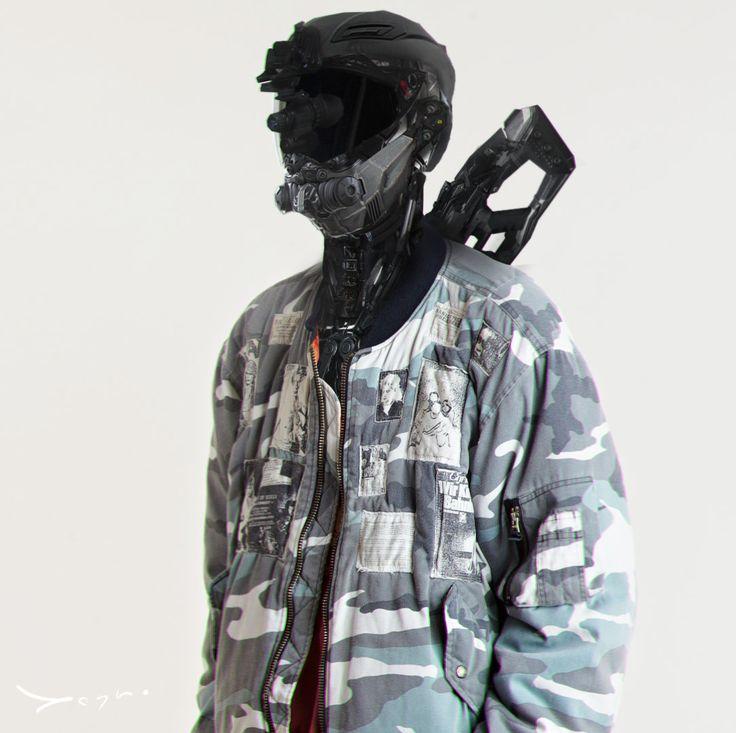 ArtStation - raf simons warrior, Anton Krakowski