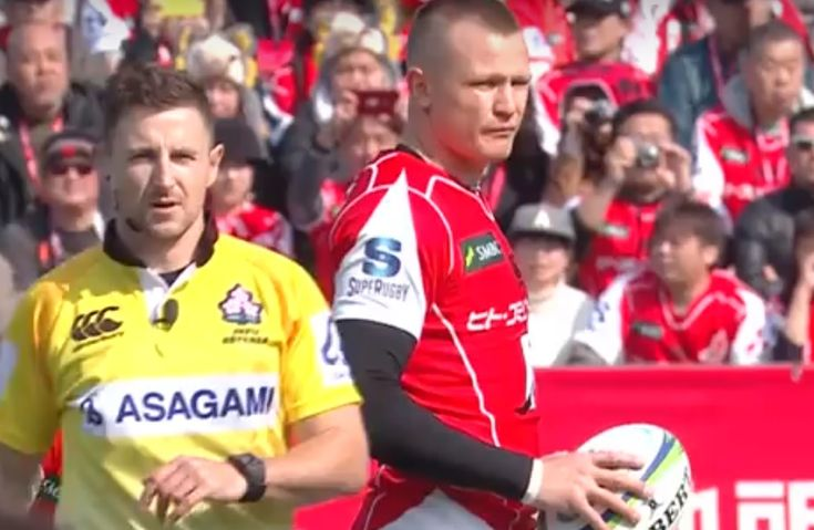 SuperRugby Highlights: Sunwolves 25-32 Brumbies  The Brumbies came from behind to get their Super Rugby campagin off to a winning start with a 32-22 win over the Sunwolves in Tokyo on Saturday. https://www.thesouthafrican.com/superrugby-highlights-sunwolves-25-32-brumbies-video/