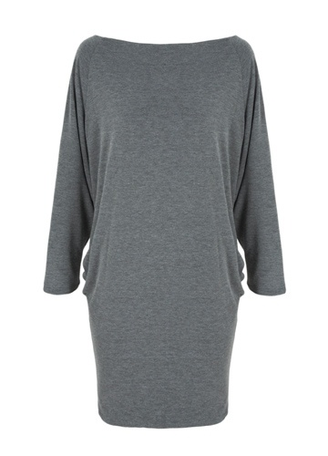 Clarence Dress, Charcoal  Casson London