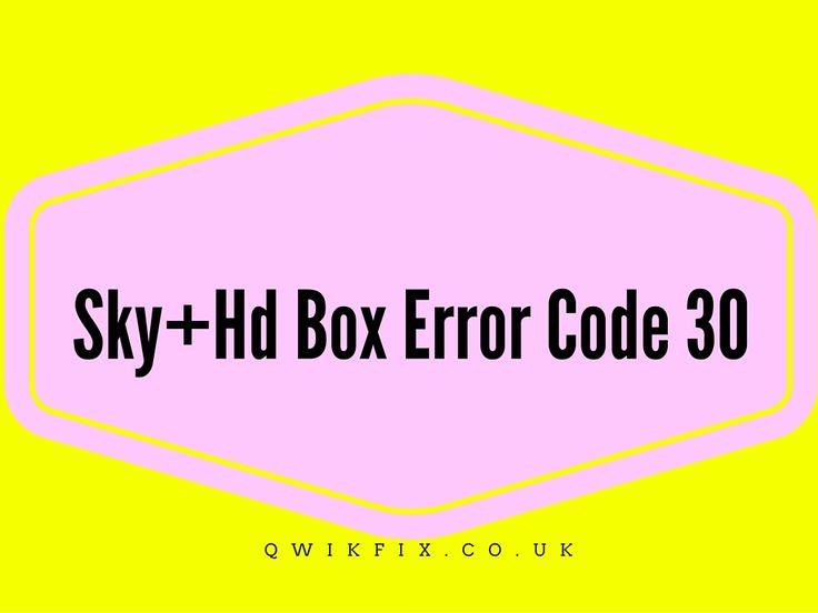 how to fix #sky_hd_box_fault_code_30 #sky_box_technical_fault_30 #sky_hd_error_code_40