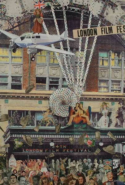 34th London Film Festival - Peter Blake - 1990 - Could be a commission. Could be his own glorified memory summed into one picture. I did find that it was sold on auction in 2006.