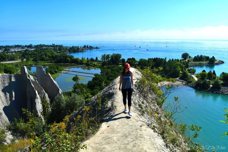 Visiting Scarborough Bluffs in Toronto