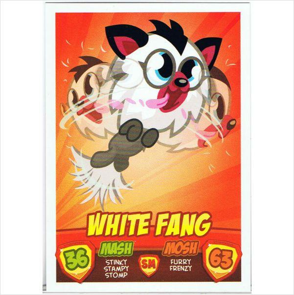Moshi Monsters Mash Up Series 2 ~ White Fang ~ Puppies on eBid United Kingdom