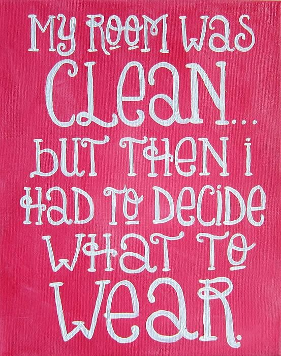 My Room Was Clean Girly Art Print by Michelle Eshleman. 186 best Art   Paintings images on Pinterest   Quote prints