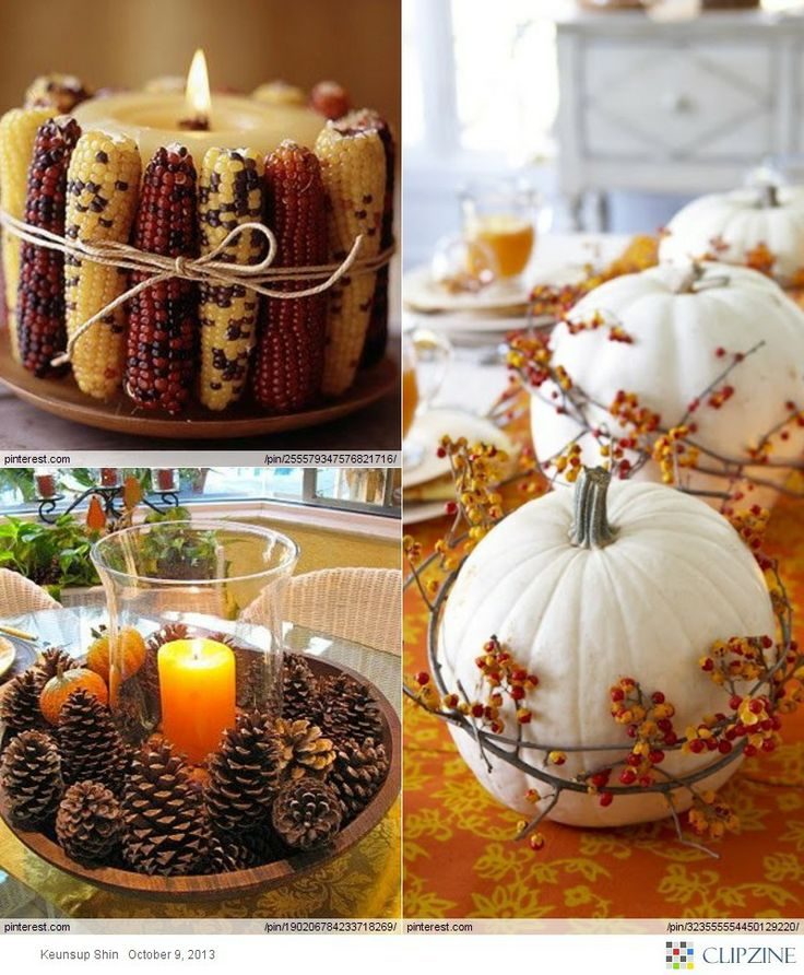 Thanksgiving Decor Ideas: Vintage Thanksgiving, Thanksgiving Greetings And