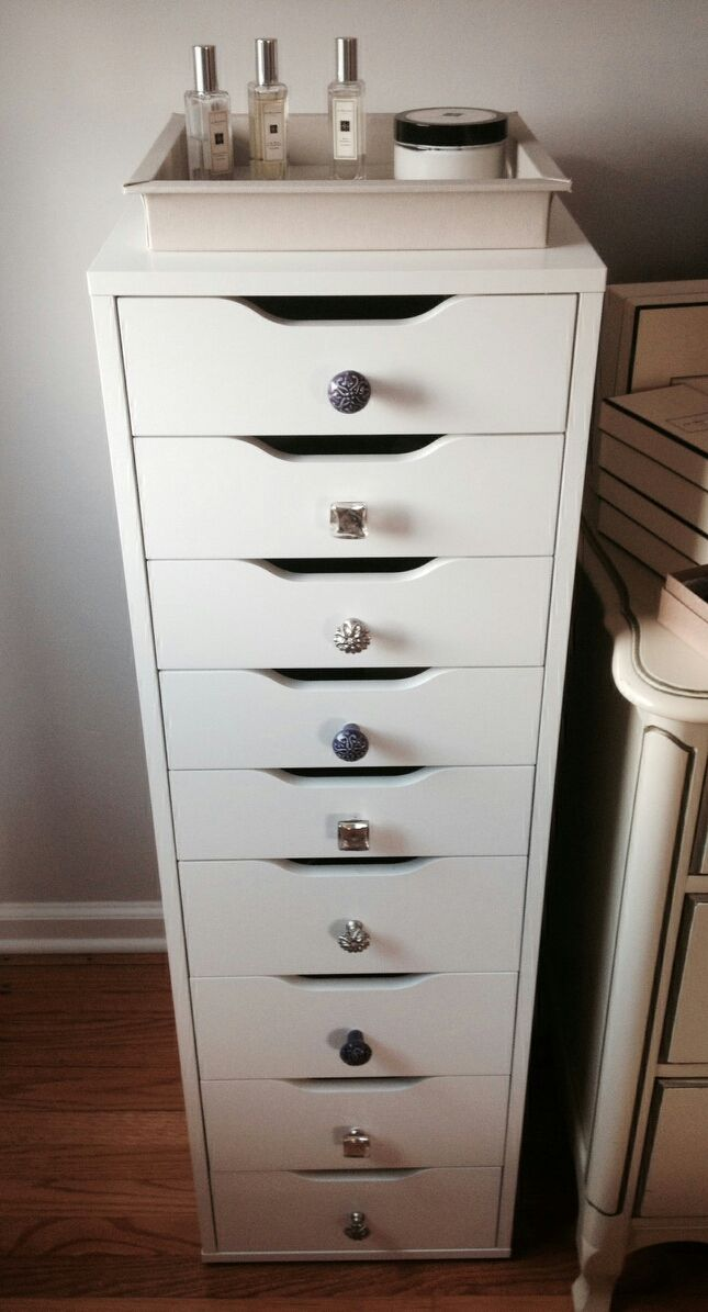 Customized Ikea Alex 9 drawer | ikea | Pinterest | Ikea