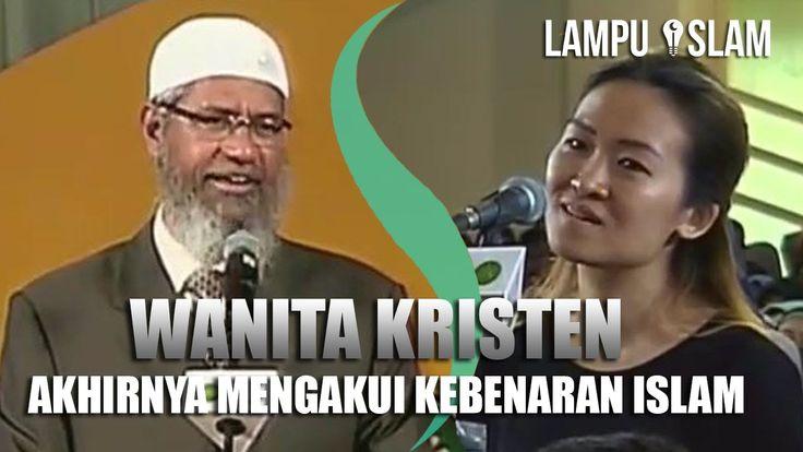 Wanita Kristen Akhirnya Mengakui Kebenaran Islam   Dr. Zakir Naik UMY Yo...