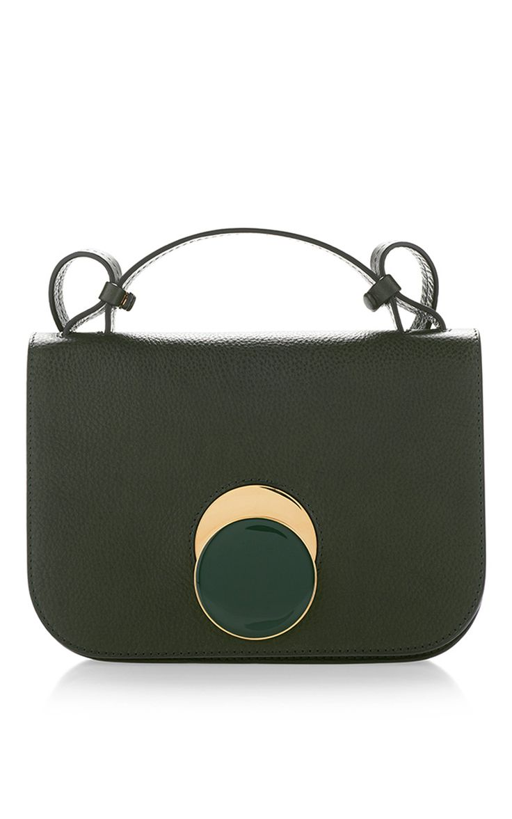 Tea Green Shoulder Bag by MARNI Now Available on Moda Operandi