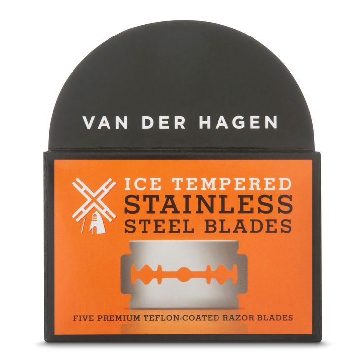 Van der Hagen Safety Razor Blades - 5 pack