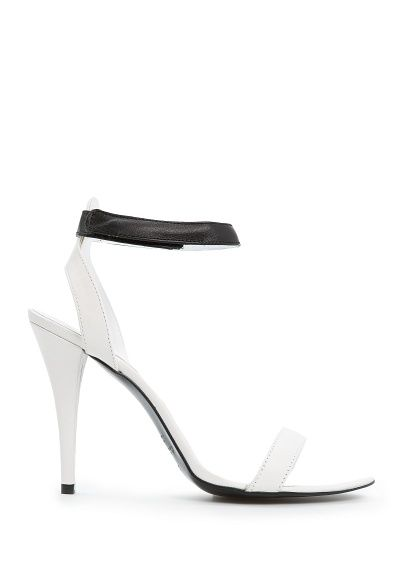 MANGO - Leather ankle strap sandals