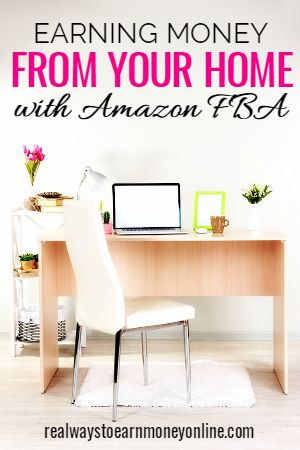 Did you know many people are making a comfortable living from home with Amazon FBA (Fulfillment by Amazon)? This is a way to resell items of your own or ones you seek out at a profit, leaving Amazon to do the shipping to the customer.