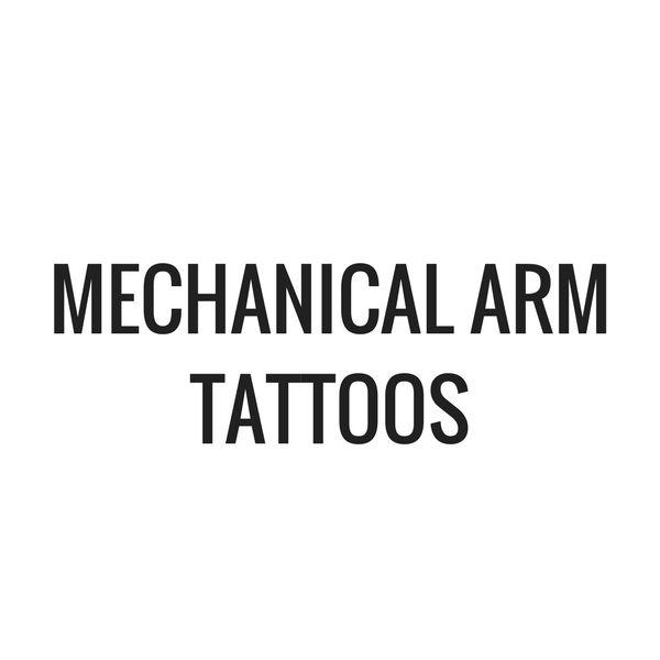Mechanical Arm Tattoos From TattoosWin.com