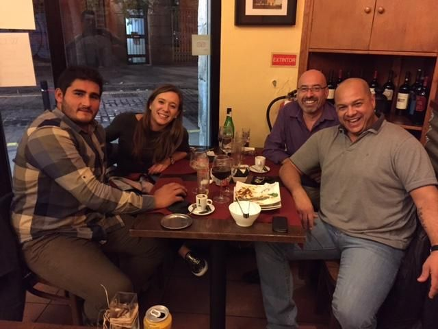 Visitas de lujo: Nahuel Lobo; un Puma de la UAR, Florencia Varela y Octavio Vaccaro.