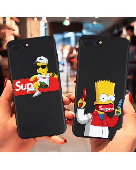 83a7968aeb2 Funda Bart Simpson Supreme | Phone Cases in 2019 | Iphone cases ...