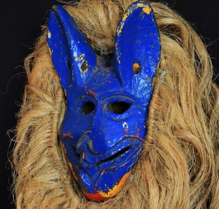 Rare Chewa Zoomorphic Mask - Zambia, Katete District #ChewaCarver