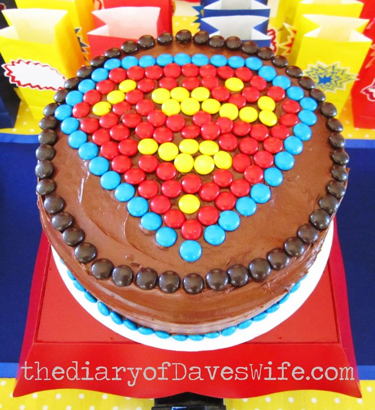 17 Best Ideas About Superman Birthday Cakes On Pinterest
