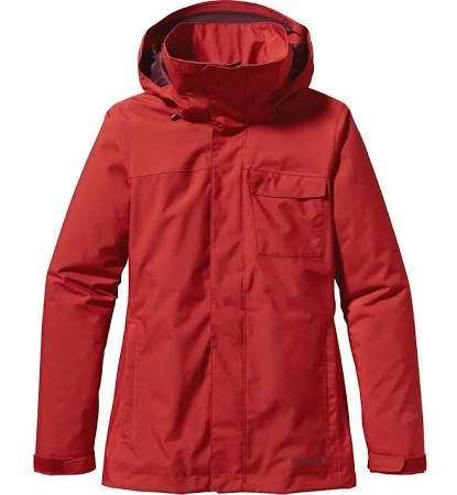 My awesome new ski coat, spent several years looking for just the right one. Excited for snow now.  Patagonia Snowbelle Jacket Red, Womens Waterproof Jacket (Size L - Color Cochineal Red)