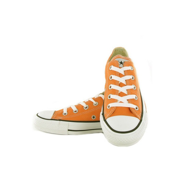 Converse All Star Nectarine Orange Womens Trainers found on Polyvore