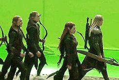The Silvan Elves of Mirkwood