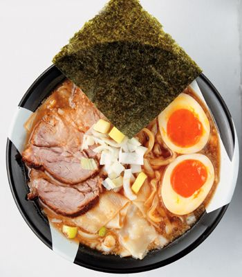 特濃煮干 ラーメン凪 新宿煮干 : 特製煮干ラーメン
