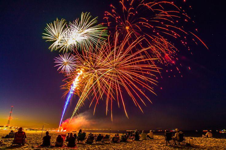 Fuochi d'artificio. Come fotografarli nel modo corretto