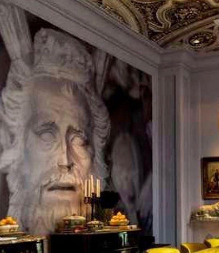 The Neoclassical mural.