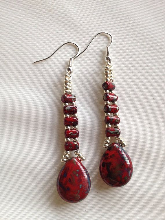 1000 images about beading earrings on