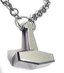 Modern Viking jewelry - Thor 3000 series hammer pendants by axl