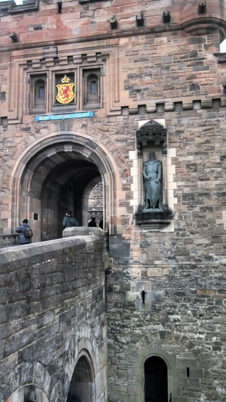 Edinburgh Castle, Edinburgh, Scotland. Scottish Fairy Door Inspiration                                                                                                                                                                                 More