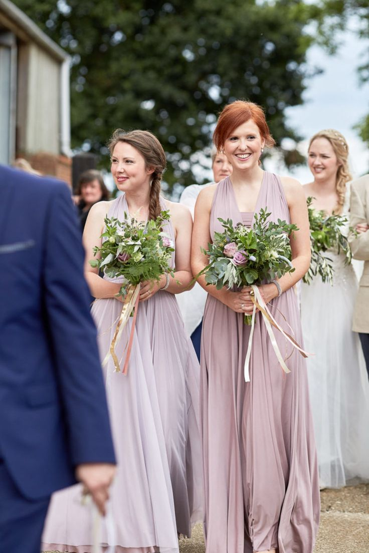 374 best real uk weddings twobirds bridesmaid images on rachel andrew featured on so youre getting married lilac tulle and heather wrap dresseslilacwedding ombrellifo Image collections