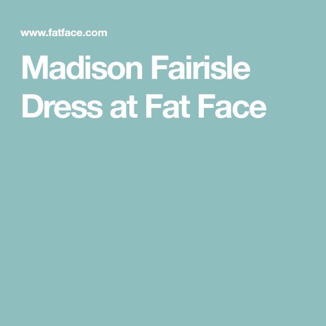 Madison Fairisle DressatFat Face