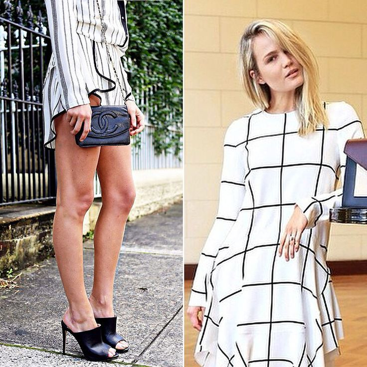 3 Cool Girl Ways to Wear Black and White This Spring