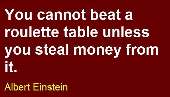 casino roulette quotes