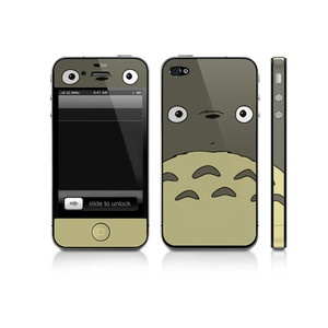 iPhone 4/4S-Sticker Totoro