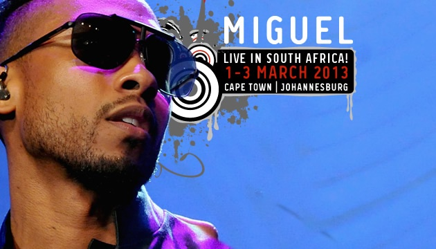 American RnB singer Miguel is in South Africa for a three day tour!