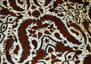So very very very Yogyakarta in style. Complex, beautiful, traditional white and brown colours.