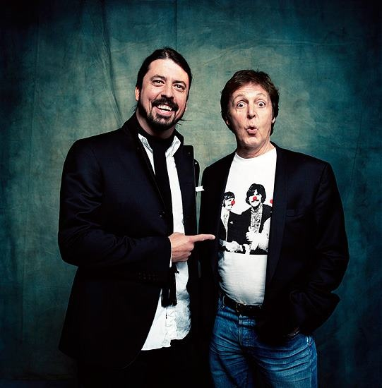 Lord Dave & Sir Paul.  Great collaboration at Sandy Benefit.