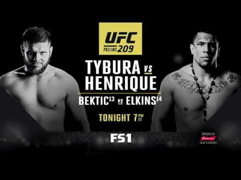UFC 209 Prelims - Tonight