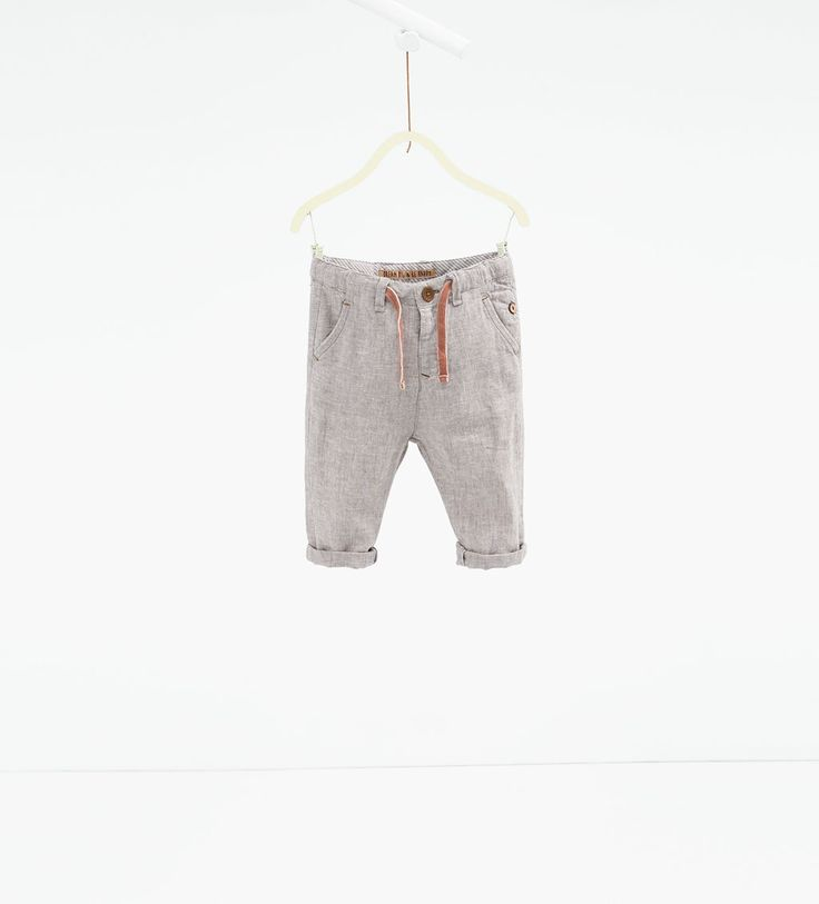 Linen trousers-TROUSERS-BABY BOY | 3 months-3 years-KIDS | ZARA United States