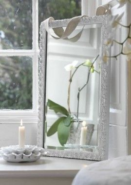 How-to spray paint a mirror frame » Rustoleum Spray Paint » www.rustoleumspraypaint.com
