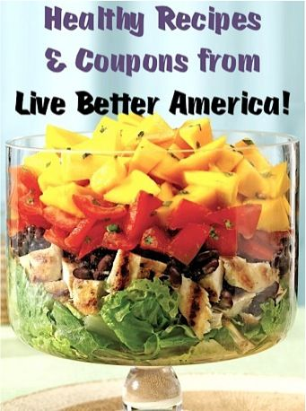 Healthy Recipes and Coupons from General Mills ~ Live Better America!