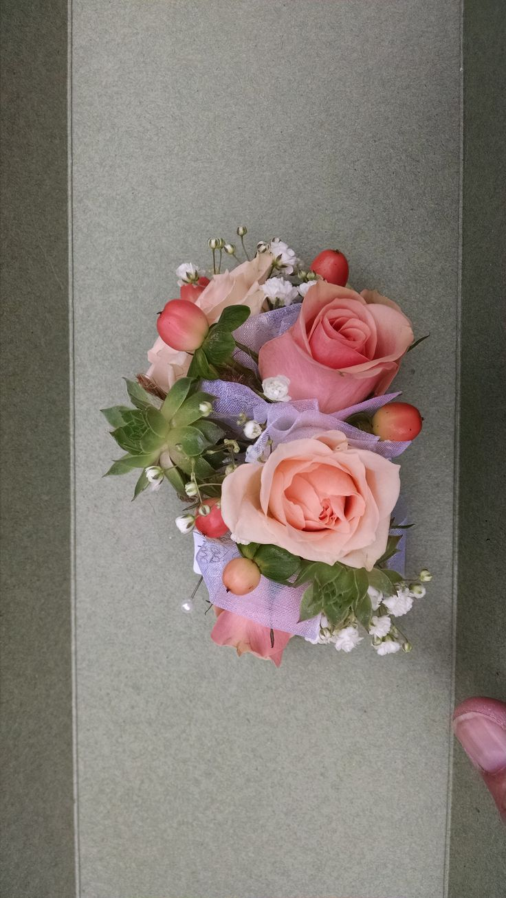 Peach Garden Rose Boutonniere 100+ [ best corsage flowers ] | diy how to make a corsage youtube
