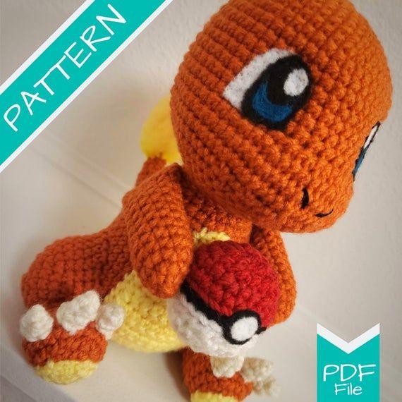 Pikachu Amigurumi (Pokemon) - Patrón Gratis en Español e Inglés ... | 570x570