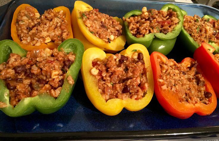 Mexican-Style Fajita Stuffed Peppers