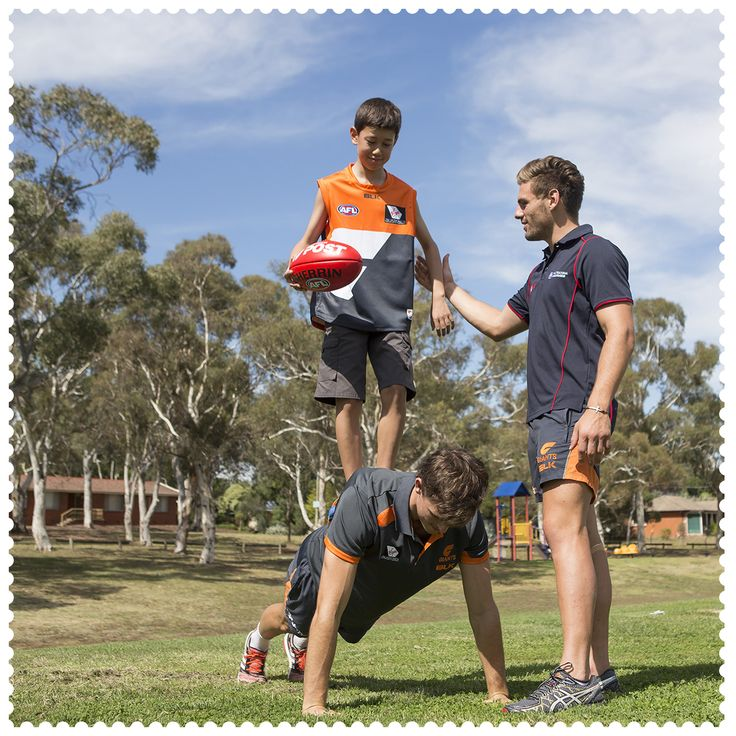 Last week Connor Low won a private training session with Australia Post AFL Multicultural Ambassador and GWS GIANTS player, Stephen Coniglio and GWS co-captain Phil Davis in Page, 2614. #AustraliaConnected, #Australia, #Canberra, #Page, #ACT, #GWSGIANTS, #AFL, #CommunityCamp, #postcode2614.