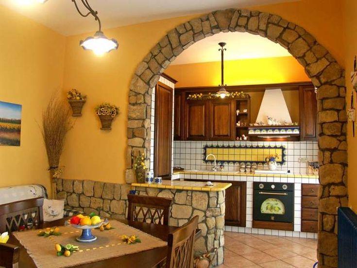 Cucine in muratura rustiche e moderne (Foto) | Designmag