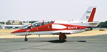 HAL HJT-36 jet trainer that is set to replace the HAL Kiran aircraft of the Indian Air Force, together with the HAL Tejas.