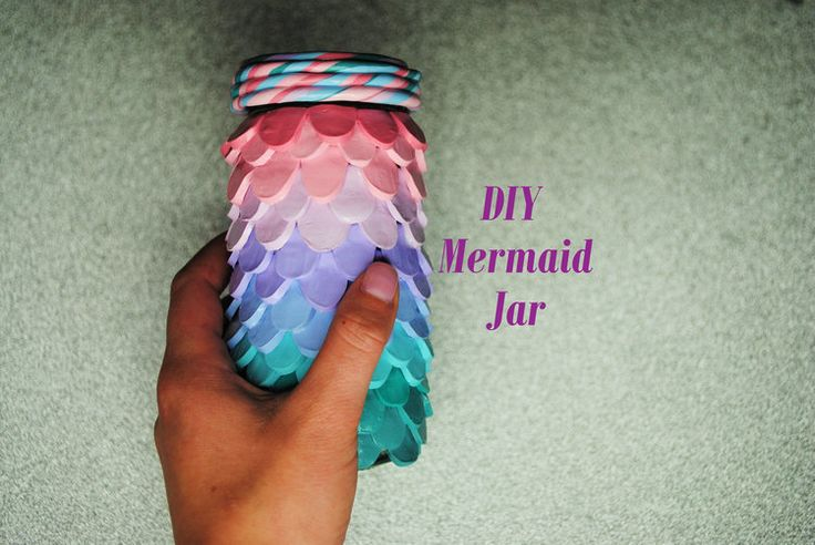 DIY Mermaid Jar