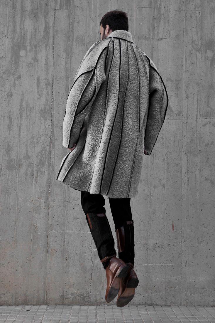 I adore this coats by Etxeberria Fall/Winter 2013